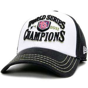 Official 2011 MLB World Series Champions Champs Hat Cap St Louis