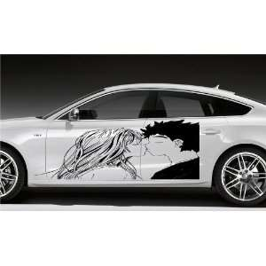 ANIME KISSING COUPLE MANGA CAR VINYL STICKER D1614: Home