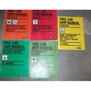 1980 Mercury Bobcat Repair Service Shop Manual Set FACTORY OEM BOOKS
