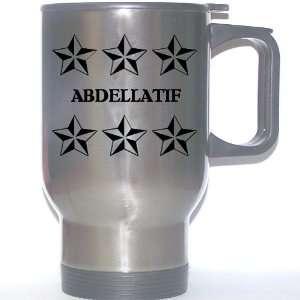 Personal Name Gift   ABDELLATIF Stainless Steel Mug