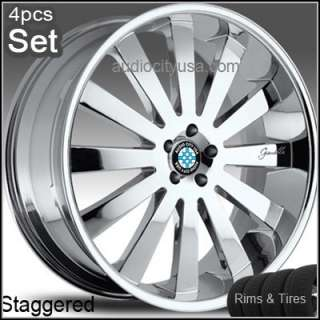 22 inch Giovanna for BMW Wheels&Tires 6 7series M6 X5 Rims