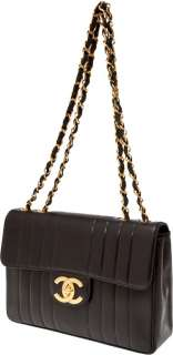 Chanel Black Lambskin Leather Oversize Single Flap Bag NR