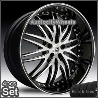 26 lexani lx10 wheels tires 300c magnum charger rims sku