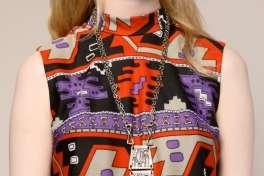 VINTAGE AZTEC PRINT DRESS Vtg 60s Mod Boho Hippie Long Maxi