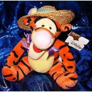 Winnie The Pooh Tigger in Straw Hat 7 Plush Beanie Toys & Games