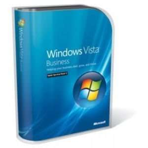 Microsoft Windows Vista Business with SP1   Full Version