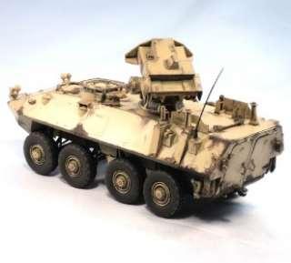 Built 1/35 USMC TUA LAV 25 Iraq Afganistan