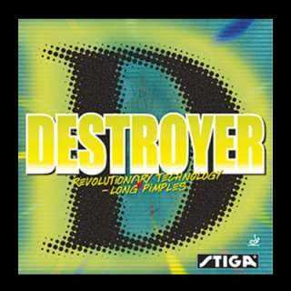 Stiga Destroyer Long pips Table Tennis Ping Pong Rubber