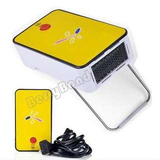 Mini Portable Warm air Fan Warmer Heater Winter Necessary Yellow New
