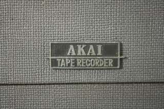 VINTAGE AKAI REEL TO REEL TAPE MACHINE   MODEL M 8   CROSS FIELD