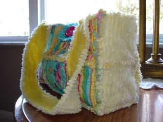my personal pattern/instructions to make a Rag Quilt Purse/Bag/Tote