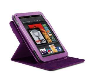 360 degree Rotary leather case fo Kindle Fire (Landscape / Portrait