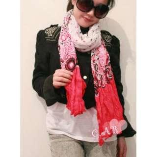 New Fashion Cool Women Lady Voile Bubble Soft Long Scarf Shawl Wrap