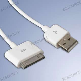 For iPhone 4 3G 4GS iPod Touch iPad 1 2 3 AV TV RCA USB Video Cable