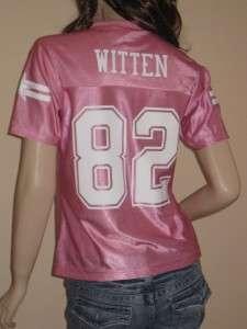 JASON WITTEN Dallas Cowboys Women Pink Dazzle Jersey