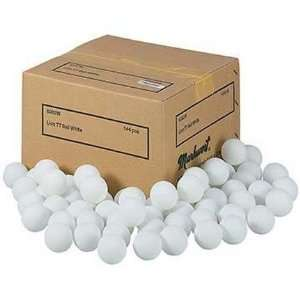 White Lion Table Tennis Practice Balls   1 Gross Sports