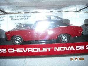 18 SC 1968 Chevrolet Nova SS 350 Red 1 of 467