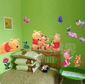 Winnie the Pooh Art Decor Wall Paper Sticker Decal 151