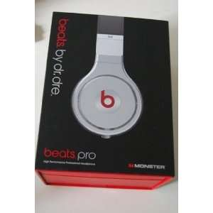 Monster Beats Dr. Dre Pro Spin Headphones White