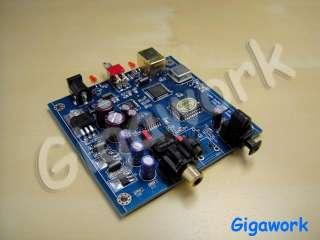 The Lars Audio 01 USB converter, USB sound card, 24bit 192KHz for CAS
