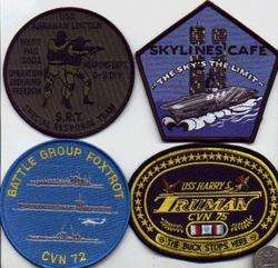 PATCH USS KITTY HAWK 911 SKYLINE CAFE USN TWIN TOWERS SQUADRON