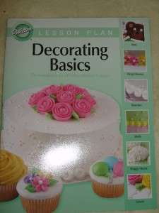 Wilton  Lot of 3 Cake Decorating Course Books  NEW ED.