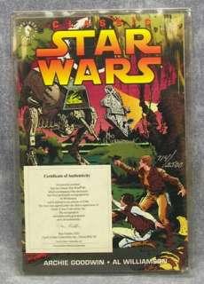 Classic STAR WARS Comic 1st Issue Williamson Autograph