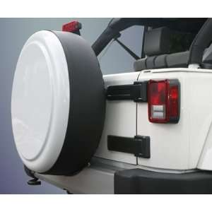 2007 2011 Jeep Wrangler Rigid Tire Cover   32 Sahara Tan: Automotive