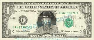Chuck Norris Dollar Bill   Mint Walker Texas Ranger