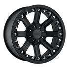 Pro Comp 7033 17x9 Black Wheels 5x5/5x5.5 Jeep JK/CJ/Ra.
