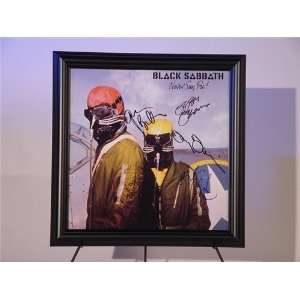 Black Sabbath Autographed/Hand Signed Album Never Say Die