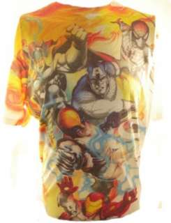 Marvel Comics Mens T Shirt   Airbrush Spider Man