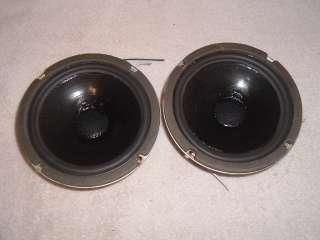 Polk Audio Mid Range Drivers 6 1/2 Vintage Model 10