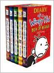 Book Cover Image. Title Diary of a Wimpy Kid Boxed Set, Author by