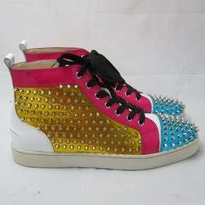 Louboutin Mens Louis Spike Sneakers Shoes Size 11 / 44 K 71150