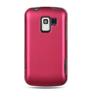 New PINK Cell Phone Hard Case 4 Verizon LG ENLIGHTEN VS700 Rubberized