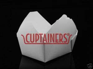 Fold Pak   Bio Pak White 4 Paper Container