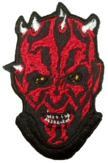 STAR WARS Darth Maul Embroidered Patch Sith Vader Lazer