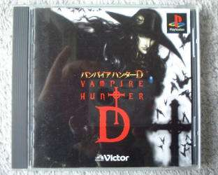 PSX PS VAMPIRE HUNTER D ANIME ACTION ADV JAPAN USED