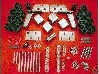 783. 87 91 Ford Bronco Fullsize 3 inch Body Lift Kit 685885007834