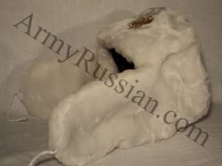 Russian Military Double Headed Eagle White Eskimo Alaska Winter
