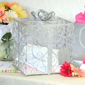 Wedding Gift Card Holder With Lock : Wedding Supplies Gift Card Box Money Holder with Heart Shape Lock