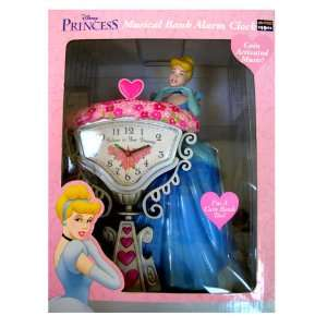 Disney Princess Cinderella Musical Bank Alarm Clock Toys & Games