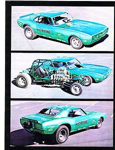 Vintage NHRA IHRA AHRA Drag Racing Camaro Funny Car Pro Stock Super