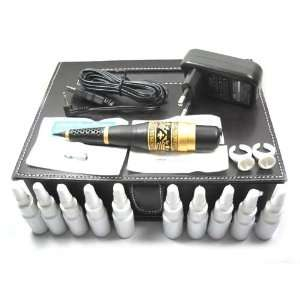 New Design High Quality Gold Machine Permanent Makeup Kit