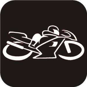 Sports Bike track Vinyl Die Cut Decal Sticker Automotive