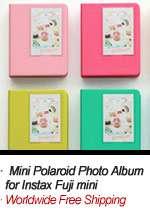 New Photo album Instax Mini Polaroid & Name card_livework_Brown