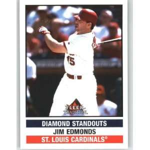 Tradition Update #U283 Jim Edmonds DS   St. Louis Cardinals (Diamond