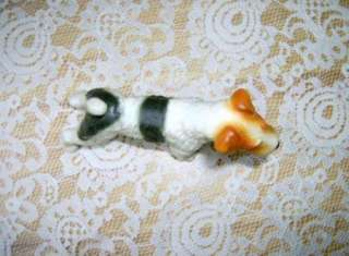 Wire Fox Terrier Dog figurine or Welsh Terrier Vintage