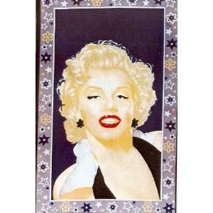 MARILYN MONROE (black dress) WALL RUG/THROW 5FT X